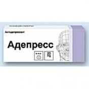 """""""адепресс"""": инструкция по применению, отзывы. аналоги препарата"""