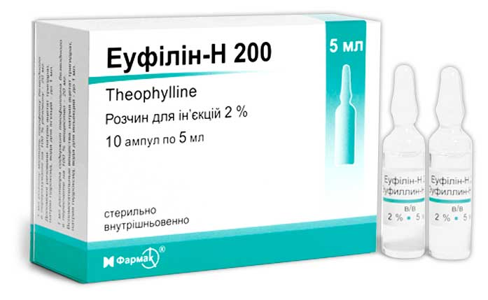 Таблетки, уколы в ампулах эуфиллин: инструкция, цена и отзывы