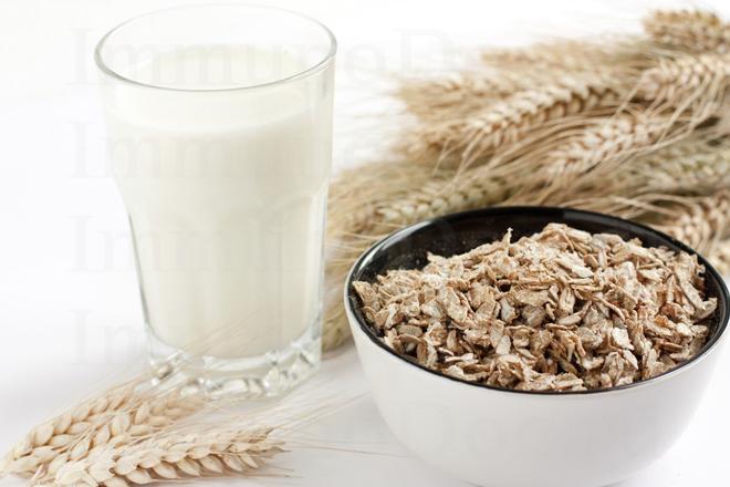 Кашель лечение молоком с овсом