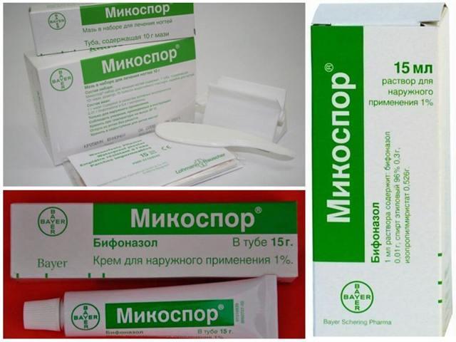 Особенности применения препарата микоспор, назначение и вероятные негативные проявления