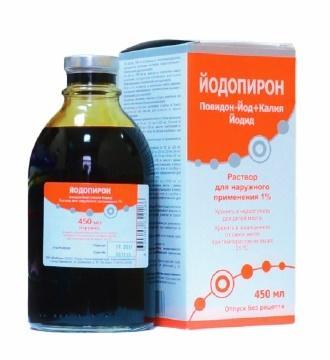 """йодопирон"": инструкция по применению, цена и аналоги"