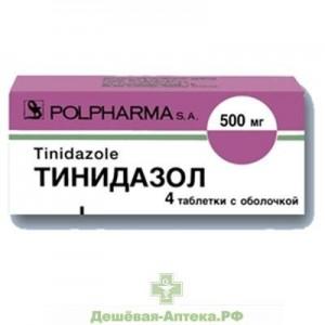 Как принимать препарат тинидазол
