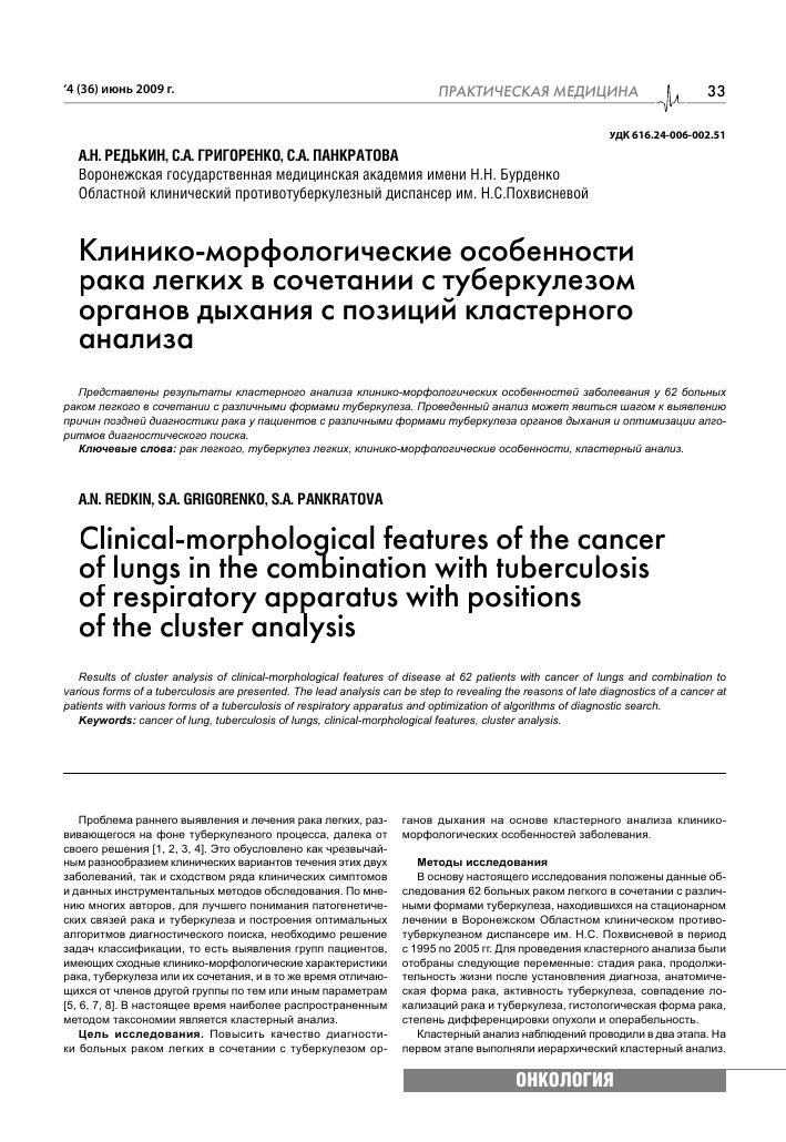 Туберкулома отличие от рака на снимке. как отличить туберкулез легких от рака, их сходства и различия
