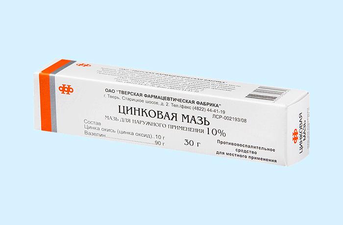 Цинковая мазь - наружный антисептик для лечения дерматитов и опрелостей
