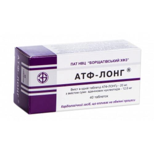 Атф-лонг – инструкция по применению, отзывы, цена, таблетки, аналоги