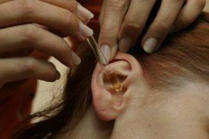 Как капать в ухо левомицетиновый спирт?