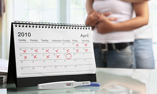 Как определить срок, на котором тест покажет беременность?