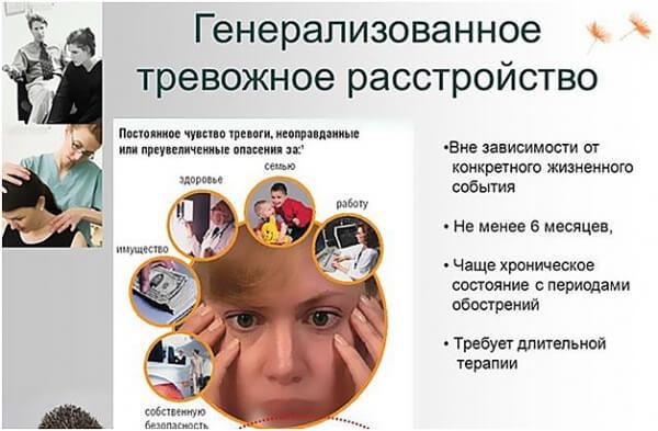 Причины, симптомы и лечение генерализованного тревожного расстройства