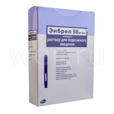 Инструкция по применению «этанерцепта»: его состав, аналоги, цена в аптеке и отзывы