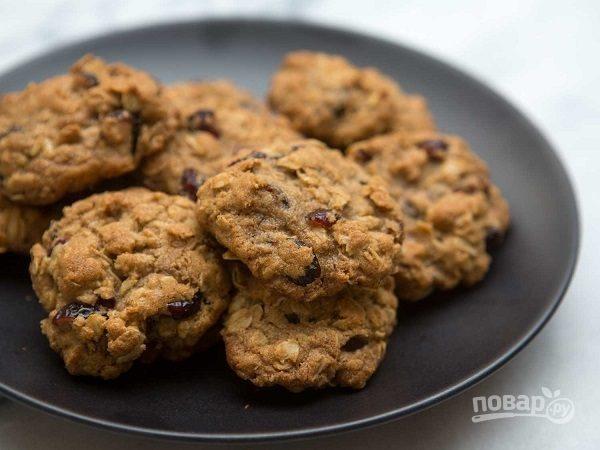 Овсяное печенье для похудения рецепт