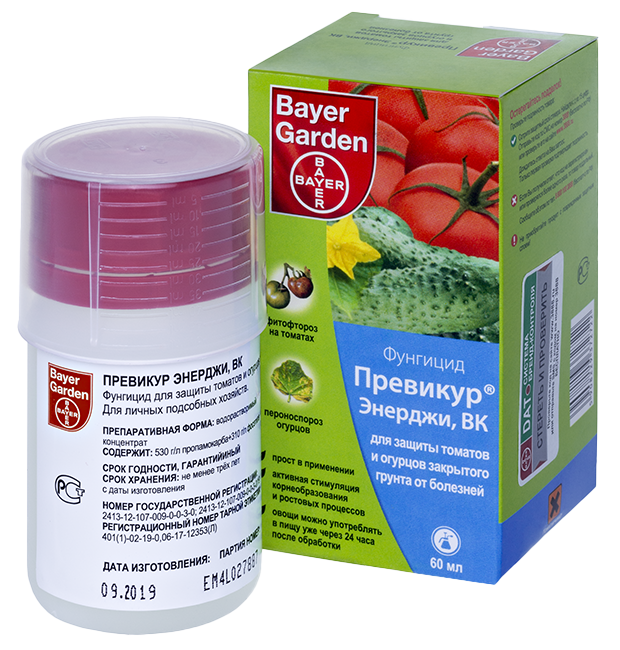Защищаем растения от болезней препаратом превикур энерджи (инструкция по применению)