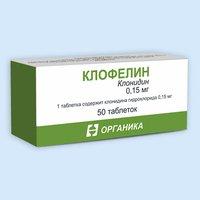 Фармакологическое действие препарата клонидин