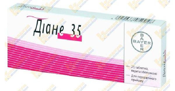 Препарат: диане-35 в аптеках москвы