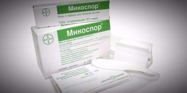 Микоспор: инструкция по применению набора от грибка ногтей, стоимость, отзывы
