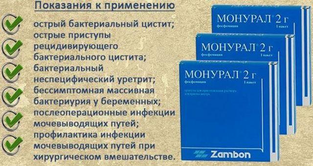 Порошок монурал: инструкция, цена и отзывы