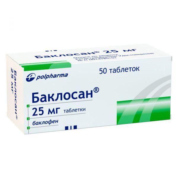 Таблетки баклосан: состав, показания к применению, дозировка, побочные эффекты
