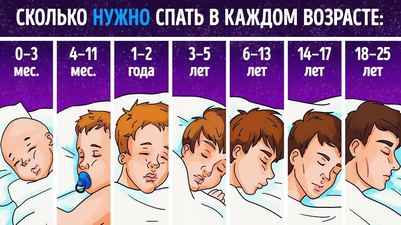 Сколько нужно спать, чтобы высыпаться