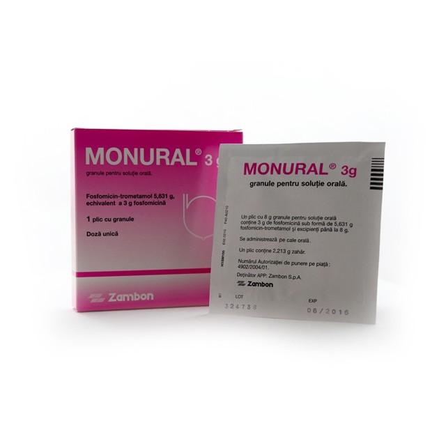 Таблетки монурель для лечения заболеваний почек и мочеполовой системы