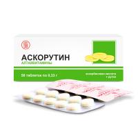 Для чего назначают аскорутин? инструкция, отзывы и аналоги, цена в аптеках
