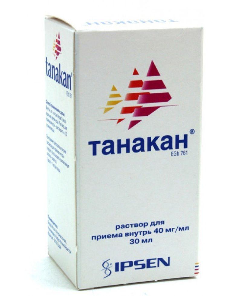 Аналоги таблеток танакан