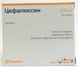 Капсулы цефалексин: инструкция по применению, цефалексин 500 мг