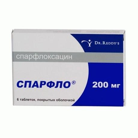 Спарфло — инструкция по применению таблеток, аналоги, отзывы, рецепт