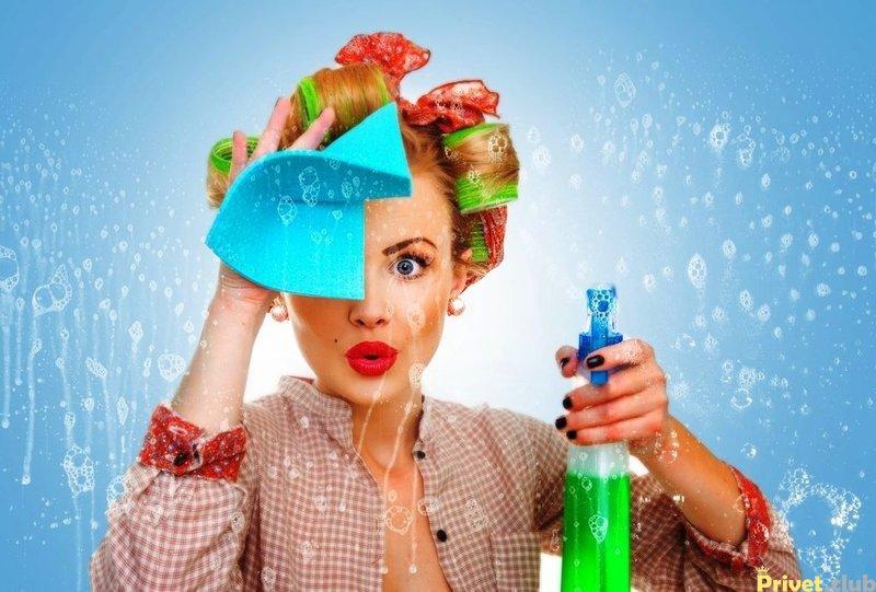 Чистящие и моющие средства в быту, и их влияние на наше здоровье