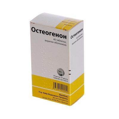 Таблетки остеогенон: профилактика и лечение остеопороза