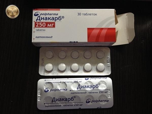 Таблетки 250 мг диакарб: инструкция по применению, отзывы и цены в аптеках