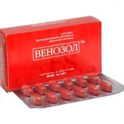 Венозол: инструкция по применению препарата, его цена, отзывы и аналоги