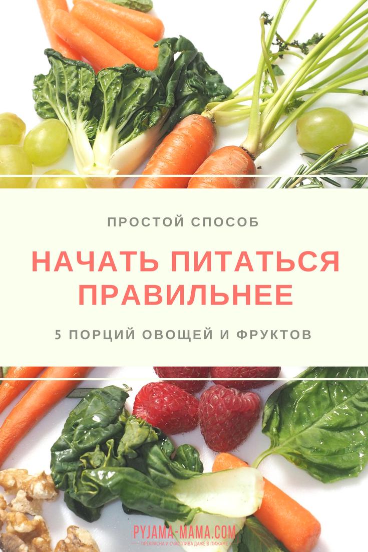 Базовые основы правильного питания