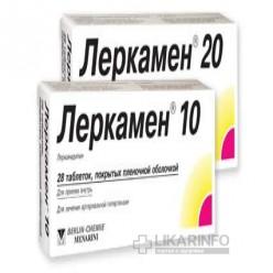Аналоги препарата «леркамен» полный список