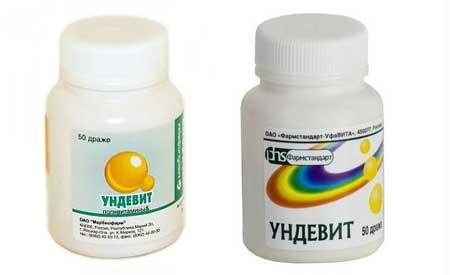 Ундевит: инструкция по применению, аналоги и отзывы, цены в аптеках россии