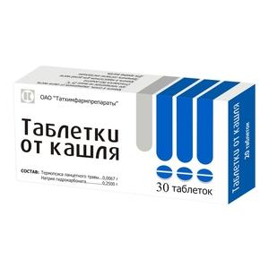 Инструкция и особенности применения таблеток от кашля термопсол