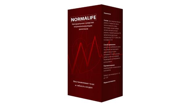 Лекарство от гипертонии нормолайф