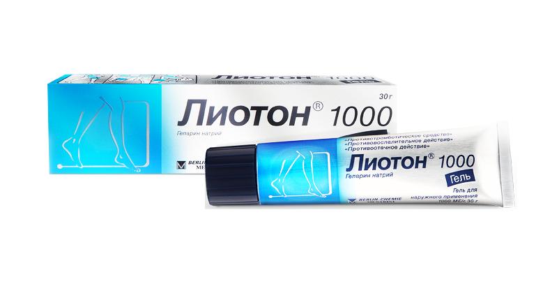 Дешевые аналоги геля лиотон 1000
