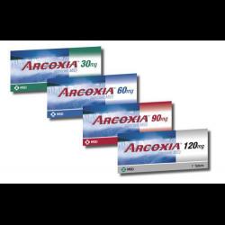 Таблетки 30 мг, 60 мг, 90 мг и 120 мг аркоксиа: инструкция, цена и отзывы