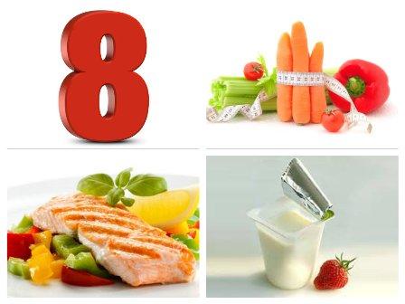 Правила и меню диеты номер 8