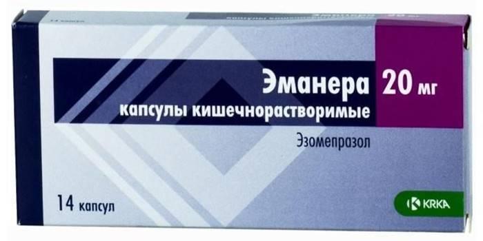 Аналоги таблеток эзомепразол канон