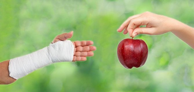 Что нужно кушать при переломе позвоночника