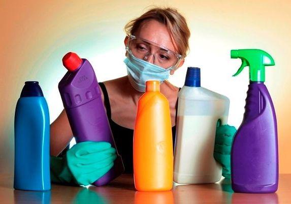 Бытоваяхимия: аллергия, вред, болезни чем заменить, черный список