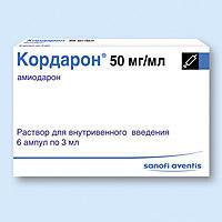 Кордарон: таблетки 200 мг и уколы