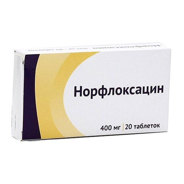 Препарат: норфлоксацин в аптеках москвы