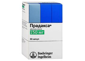 Описание препарата прадакса (pradaxa)