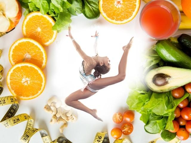 Диета художественных гимнасток: меню на каждый день, рацион, режим питания