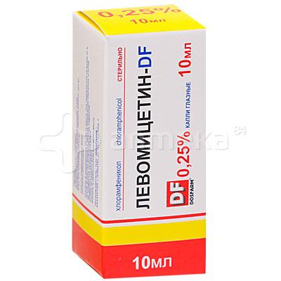 Хлорамфеникол: состав, показания, дозировка, побочные эффекты