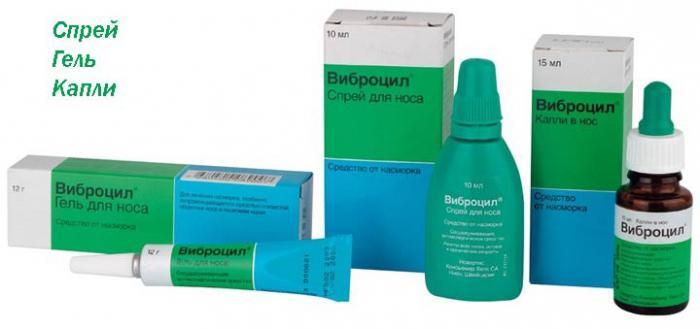 Виброцил (капли в нос \ спрей): инструкция по применению, аналоги и отзывы, цены в аптеках россии