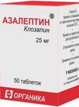 Аналоги таблеток азалептин