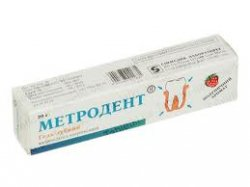 Метродент – инструкция по применению геля, цена, отзывы, аналоги