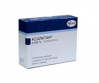 Ксалатан, глазные капли 0.005%, 2,5 мл, 3 шт.*